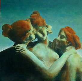 redheads by Clive Hedger