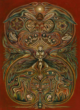 Shaman's Dream by Clive Hedger