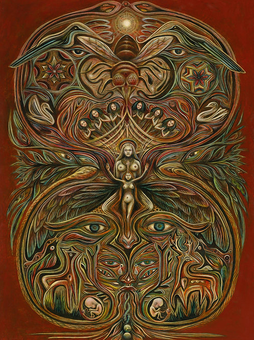 Shaman's Dream - Giclee Print