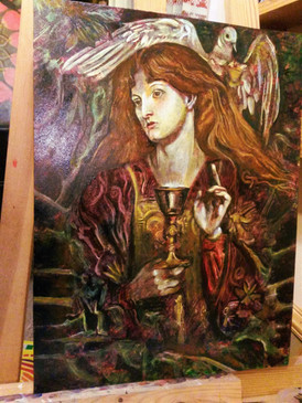 after Rosetti by Clive Hedger