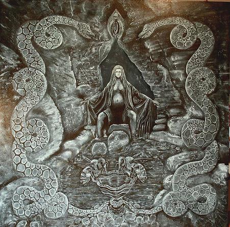 Clive hedger artwork in progress