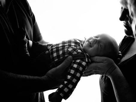 Daegan -- Lake Charles Newborn Photography
