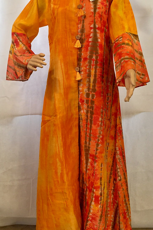 Party wear Kurta - Orange