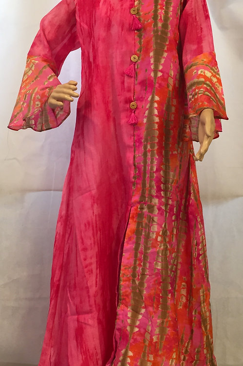 Party wear Kurta - Pink
