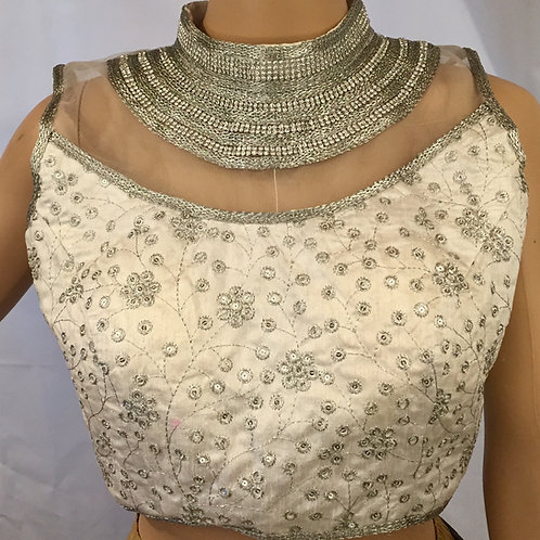 Ready to wear blouse - Sleeveless