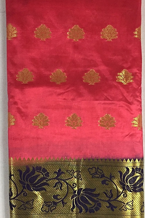 Banarasi Silk Saree with Beautiful Motifs