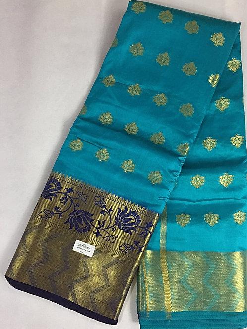 Banarasi Silk Saree with Beautiful Motifs