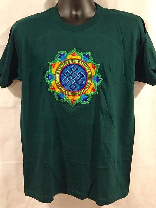 100% Cotton graphic embroidered Tees