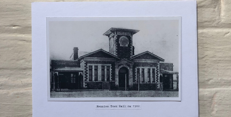Old Menzies Photographs