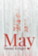 Novel front cover - May by Naomi Kruger