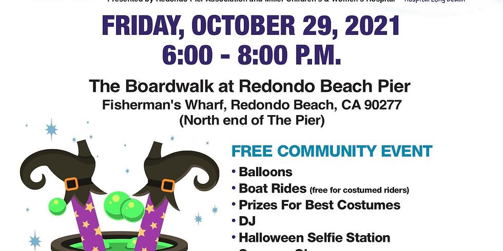 Halloween on the Boardwalk at Redondo Beach Pier