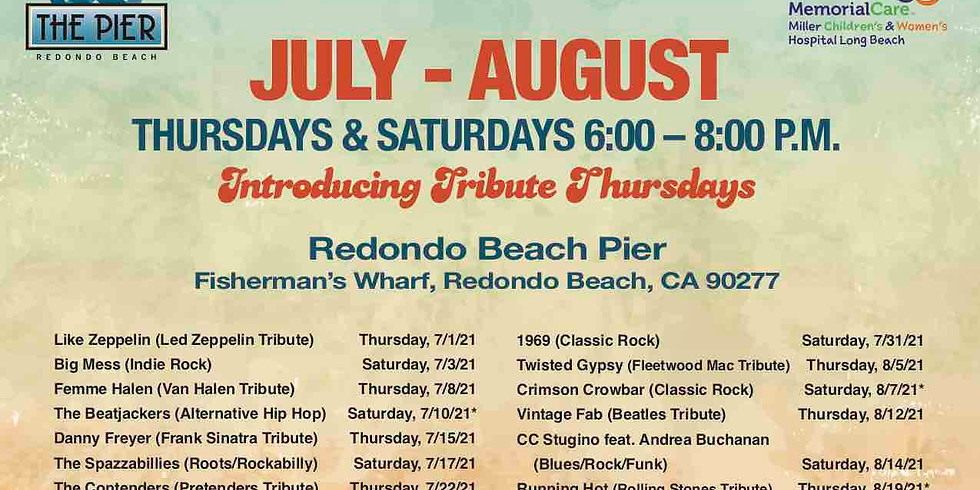 Summer of Music Free Concerts on the Pier and Boardwalk