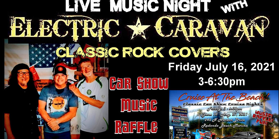 Cruise at the Beach - LIVE MUSIC this Friday!