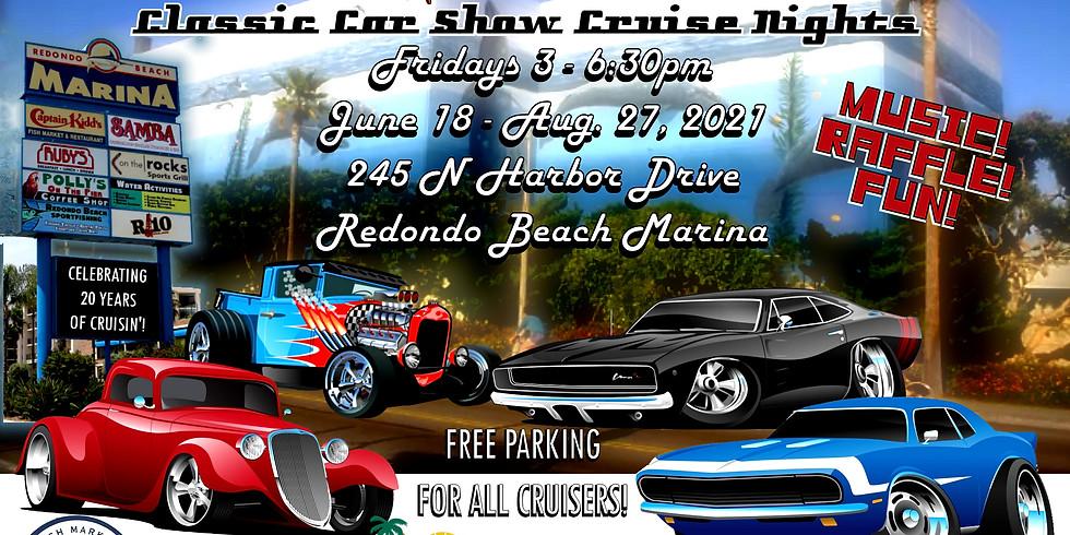 Cruise at the Beach - Classic Car Show