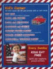 lunch, special, children, eat, food, gluten-free, menu