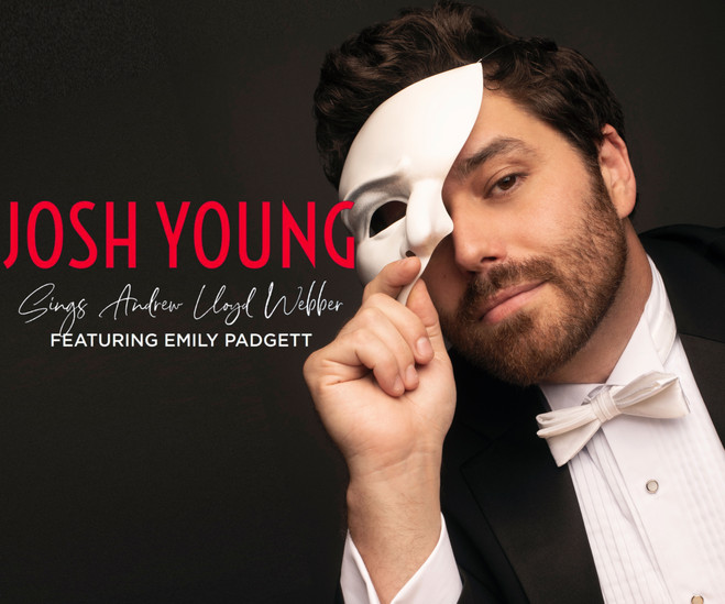 """Tony Nominee, Theater World Award Winner and 5 time Broadway World Award Winner   JOSH YOUNG  SINGS ANDREW LLOYD WEBBER   In his rafter raising show, Josh Young brings his award-winning vocals to the epic tunes of the most prolific Broadway songwriter of all time; Andrew Lloyd Webber.   An autobiographical journey from his first Webber experience to performing the visionary's work on Broadway, all over the world, and at the Tony Awards.   The critics agree! On Webber's greatest tunes, Young is:  """"...remarkable""""  Chicago Examiner  """"...superb""""  LA Times  """"...vocally lustrousand charismatic"""" New York Times  """"...agolden voice""""  Chicago Sun  """"...electrifying""""  Hollywood Reporter  """"...extraordinarily good"""" Entertainment Weekly  """"...fiercely charismatic""""  TimeOut  """"...simply captivating"""" BroadwayWorld  """"...one of the best musical theater voices on the continent"""" The Independent """"...astonishing""""  Houston Examiner  """"...the best I've ever heard""""  San Antonio Current  Through a string of personal stories and hysterical anecdotes you'll see why insiders say:  """"Josh Young blows your mindwith his phenomenal vocalsand sarcastic humor and heart.""""  KWOF FM  """"there is no artistyet, that can compareto his performance""""   BroadwayWorld  """"So awe inspiring that it will bring chillsto you throughout the night.""""   Denver Examiner  Audiences will laugh, cry, cheer and leave full to the brim with gorgeous music, backstage tales, and memories.  """"Every song he sings is like a shimmering bauble, that by the end you have a priceless string of vocal jewels around your senses.""""   The Column  """"(Josh Young) … brings down the house   Talkin' Broadway"""