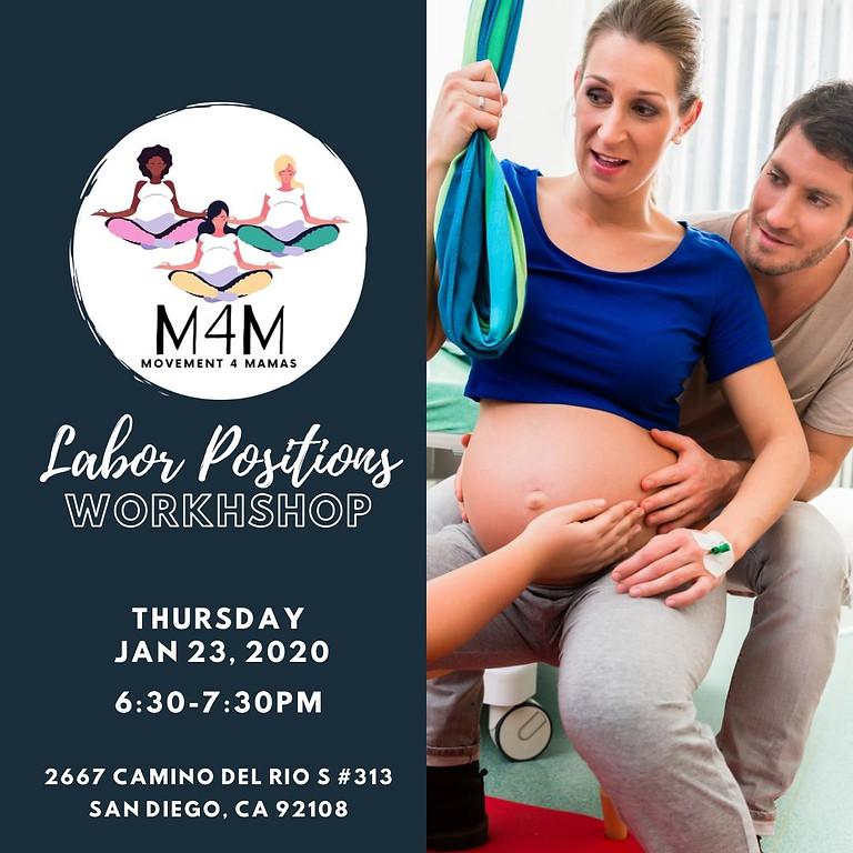 Free Labor Positions Workshop