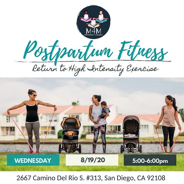 FREE Postpartum Workshop: Return to High Intensity Exercise!