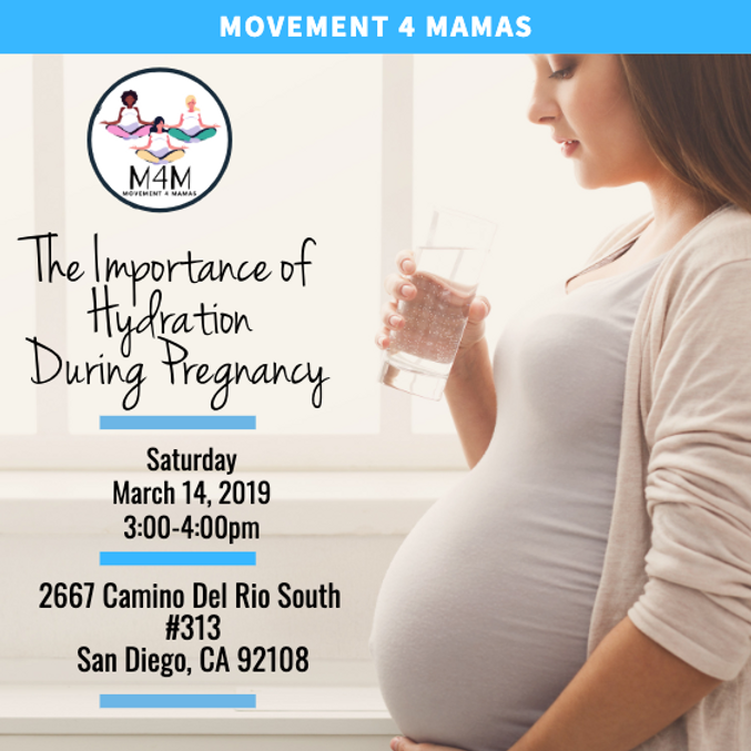 FREE Online Webinar: The Importance of Hydration during Pregnancy