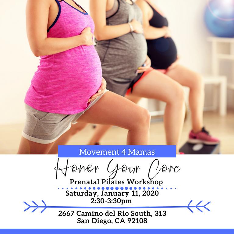 Movement 4 Mamas: FREE Prenatal Pilates Workshop!