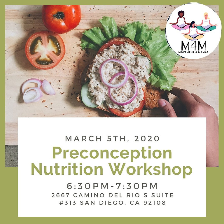 Preconception Nutrition Workshop