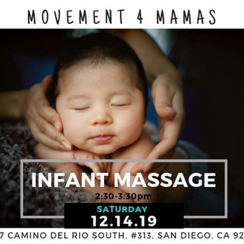 FREE Movement 4 Mamas: Infant Massage Workshop!
