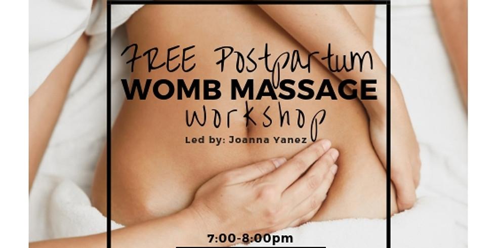 Movement 4 Mamas: Free Womb Massage Workshop!