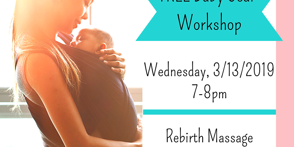 FREE Baby Gear Workshop