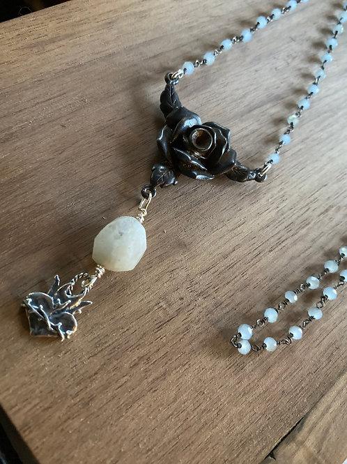 Rose Sacred Heart Rosary
