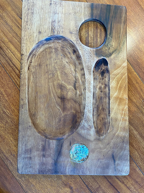 WOODEN TRAY #8