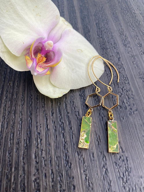 Mojave Copper Turquoise Earrings