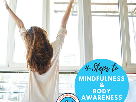 4-Steps to Mindfulness & Body Awareness