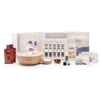 Premium Young Living Starter Kit with Aria Diffuser