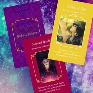 goddess wisdom cards