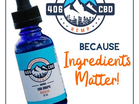 Ingredients Matter
