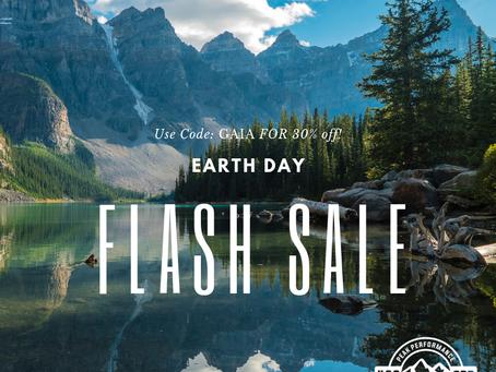 Earth Day Flash Sale