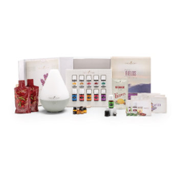 Premium Young Living Starter Kit with Dew Drop Diffuser