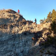 Hiking in the Breaks