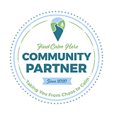 Find Calm Here Community Partner Badge 2