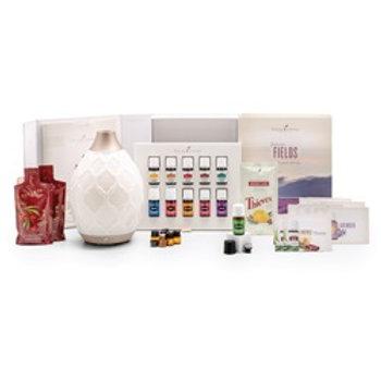 Premium Young Living Starter Kit with Desert Mist Diffuser