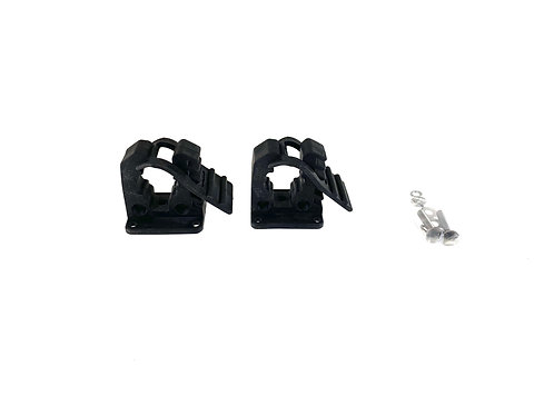 EXR - Make your Own Paddle Mounts (req. drilling).  (2) Rubber Mounts w/ Hrdwr
