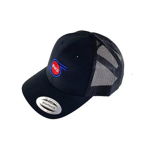 8-00-9519 - EXR Black SMS Trucker Hat