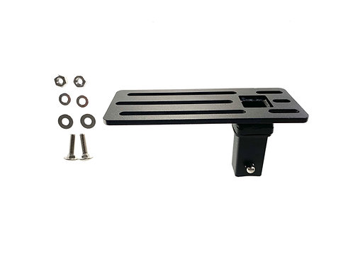 "EXR B13 Universal Click-In Bracket, 2.6""x6.5"", 1/4"" bolt holes - SITS PARALLEL"