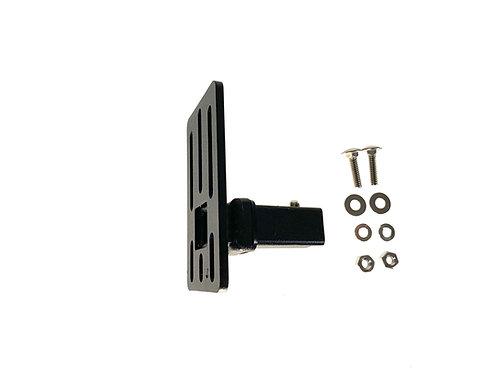 """EXR B16 Universal Click-In Brkt, 4.5""""x2.6"""", 1/4"""" bolt holes - SITS PERPENDICULAR"""