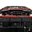 Thumbnail: Red CLICK-IN Roof Racks 2007-2018 Jeep Wrangler JKU (4dr) Soft Top