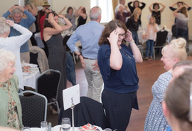 Guests taking part in the fun