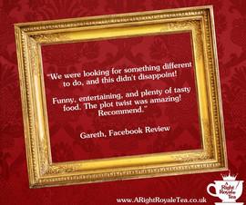 Facebook review Gareth