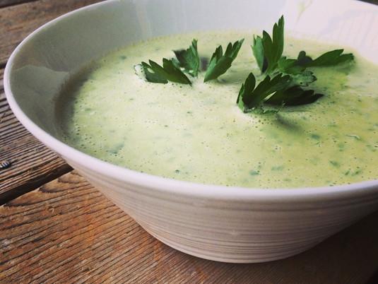 Raw Celery Soup