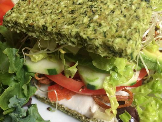 Grain-free Veggie Sandwich