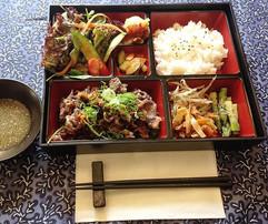 Rinds- Karaage Bentō, Lunchmenü (19.6. -